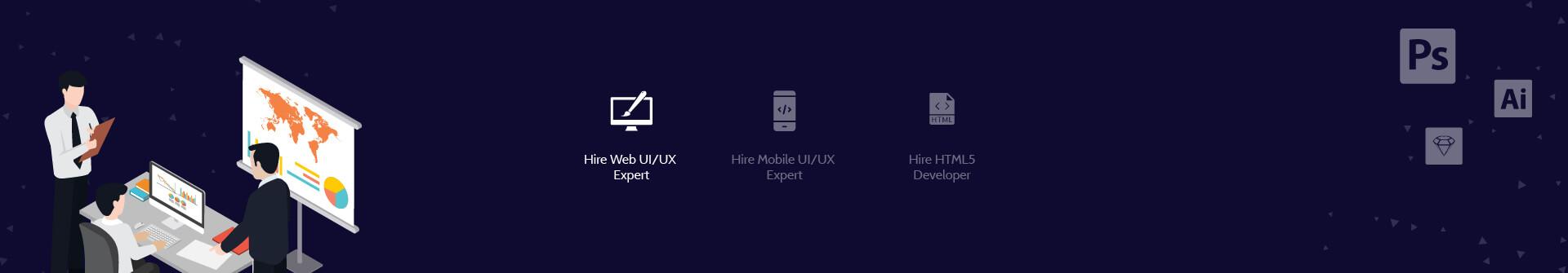 Hire Web UI UX Expert