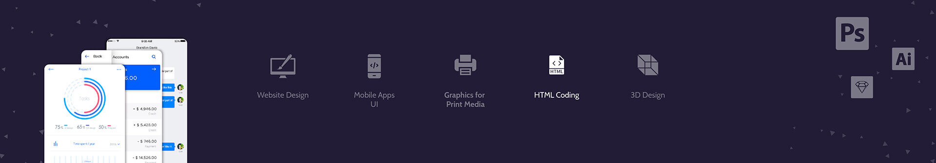 PSD to HTML 5 Development