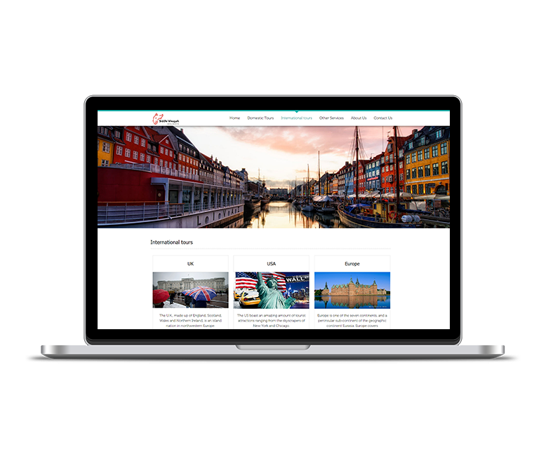 Travel Industry Web Design