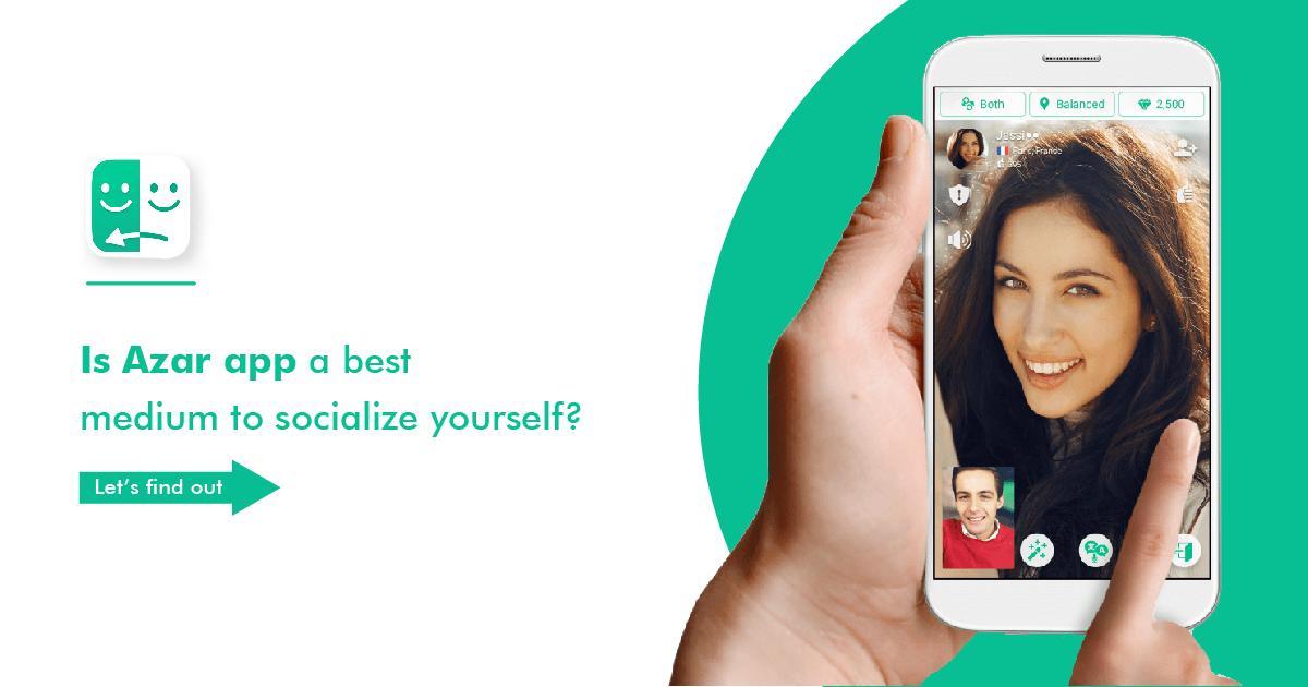Azar : برنامج دردشة فيديو عشوائية مجاني