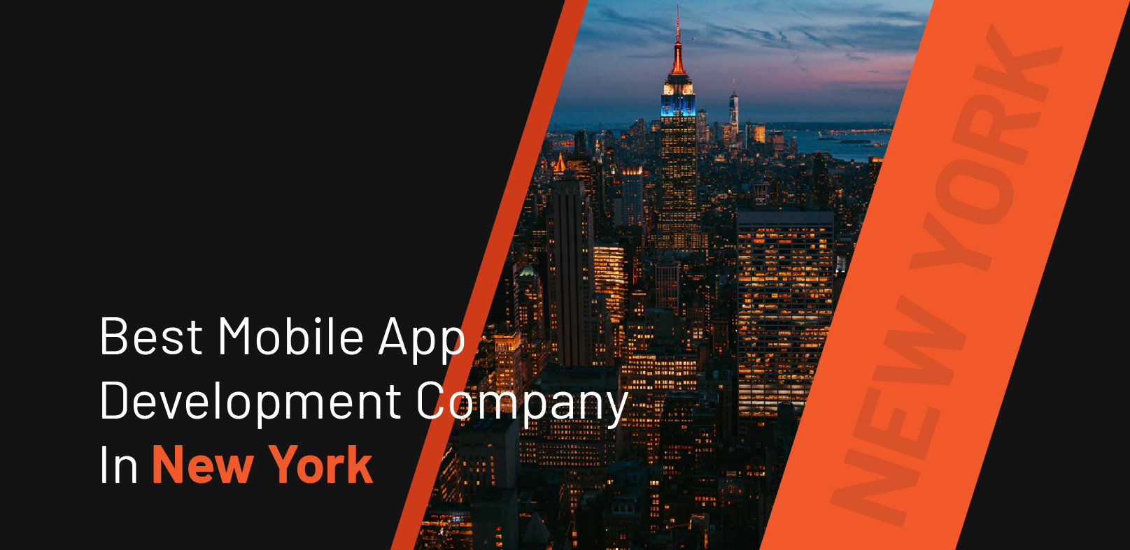 Best Mobile App Development Company In New York - WebClues Infotech